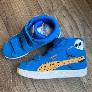 Puma RARE Sesame Street Suede Shoes Cookie Monster